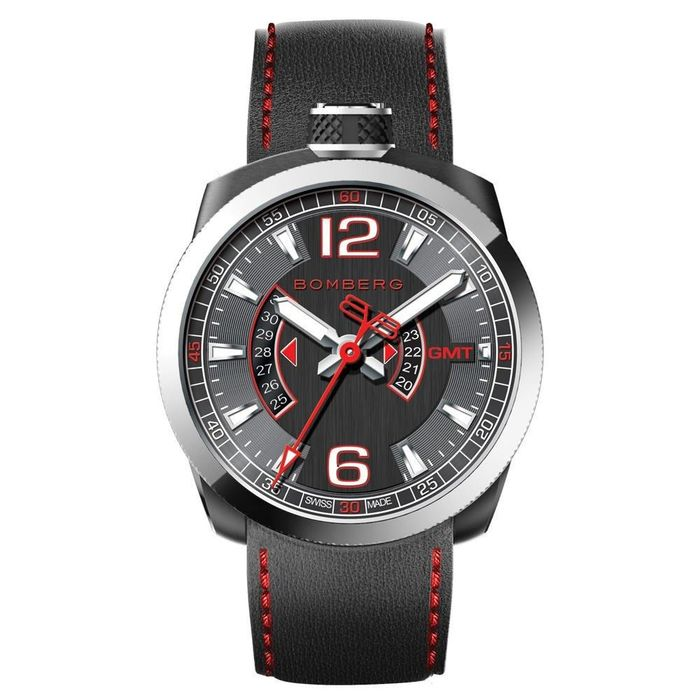 """Bomberg - BOLT-68 GMT Red """"NO RESERVE PRICE"""" - BS45GMTSP.004.3 - Hombre - 2011 - actualidad"""
