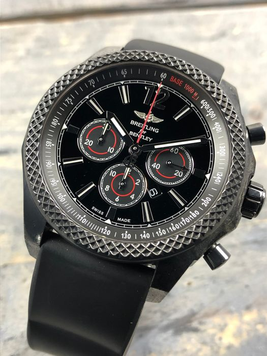 Breitling - Bentley Barnato 42 Midnight Carbon Limited Edition - M4139024/BB85 - Heren - 2011-heden