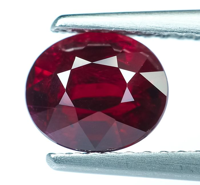 Vivid Red Ruby - 1.52 ct