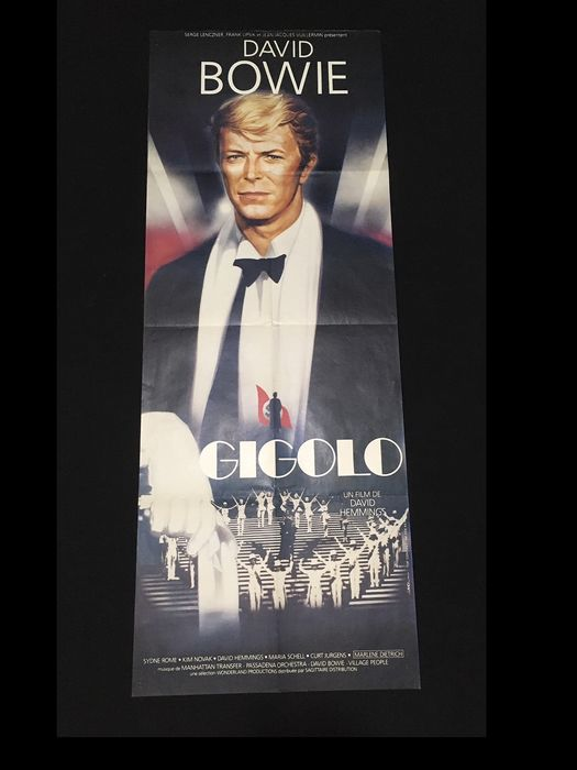 Just A Gigolo (1978) - David Bowie - Póster, Vintage - Original Promo Panel French Cinema release (158x60 cm)