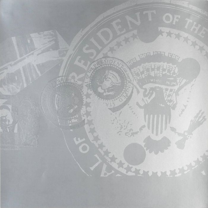 Andy Warhol - Flash, II.33 Silver Presidential Seal, 1968
