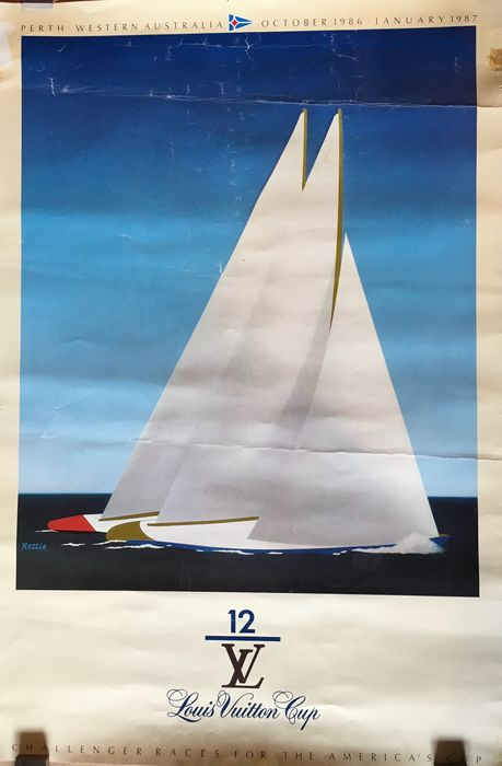 Razzia - Louis Vuitton Cup-America Cup - 1986