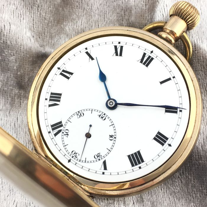 Pocket watch - Swiss made - NO RESERVE PRICE - Hombre - ca. 1920
