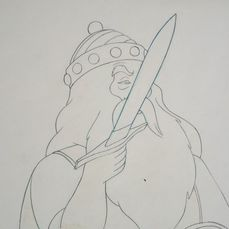 Ralph Bakshi - Original Animation Production Drawing - Lord Of The Rings - (1978)