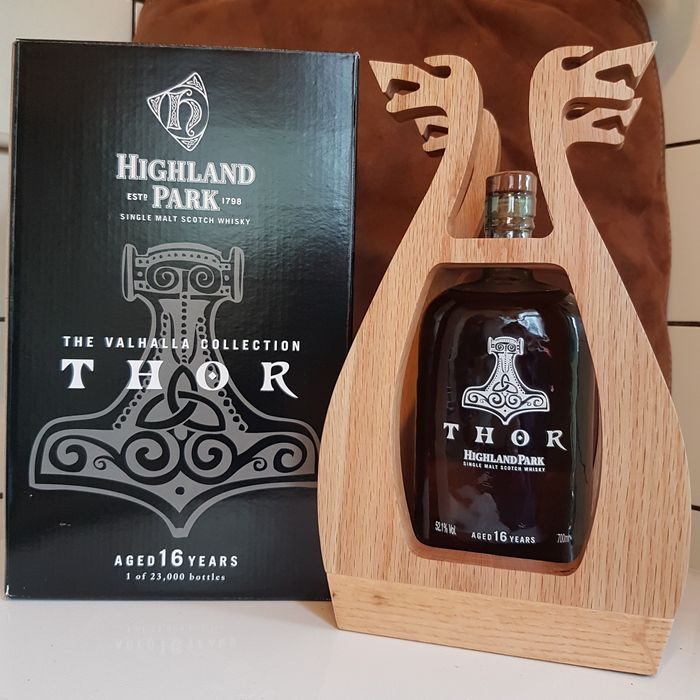 Highland Park 16 years old The Valhalla collection - Original bottling - 700ml
