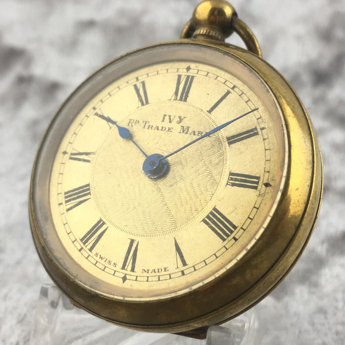 IVY - Golden dial Pocket watch - NO RESERVE PRICE - Unisex - 1901 - 1949