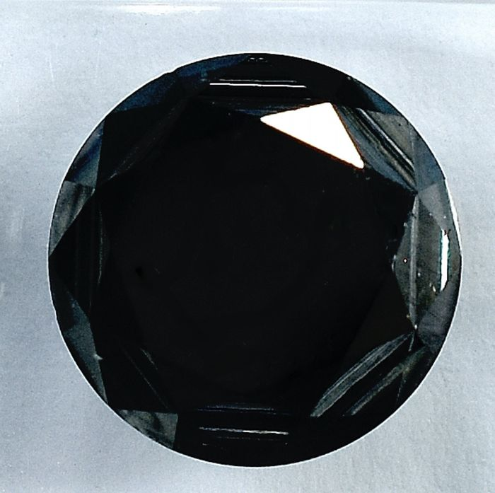 Diamante - 5.65 ct - Brillante - Black - N/A