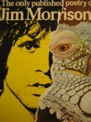 Jim Morrison Poetry Book  (The Doors) - The only published poetry of Jim Morrison - Boek - 1985