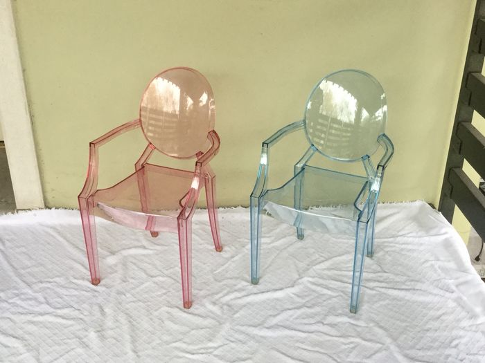 Philippe Starck - Kartell - Chaise (2) - Lou Lou Ghost