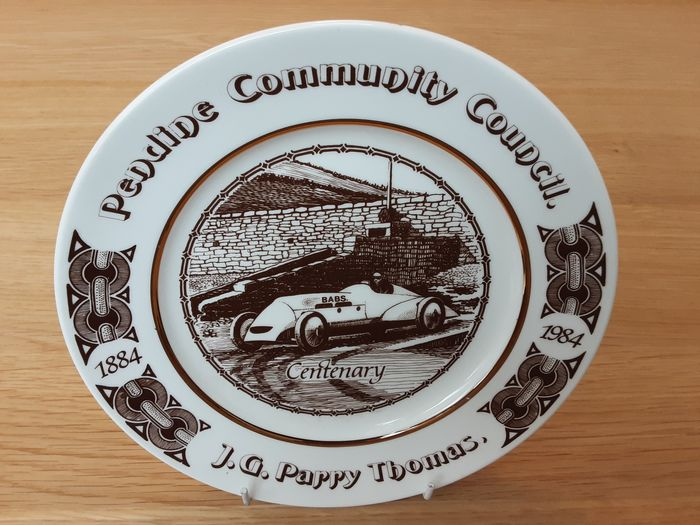 Decoratief object - Parry Thomas - Babs - Land Speed Record Centenary Plate Limited Edition 49 of 500 - 1980-1990