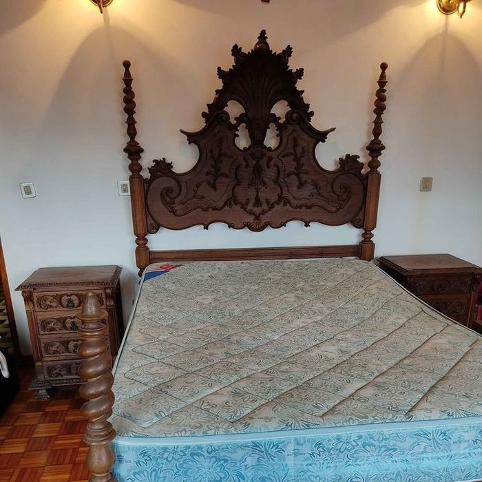 Bed - Hout - 19e eeuw