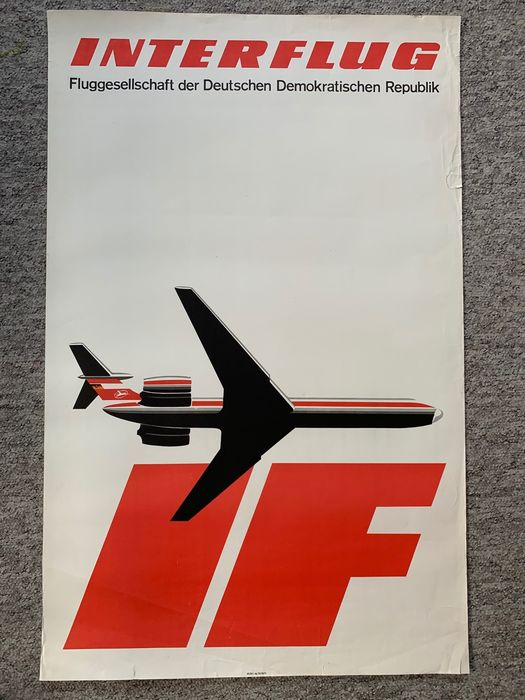unknown - INTERFLUG airlines - 1967