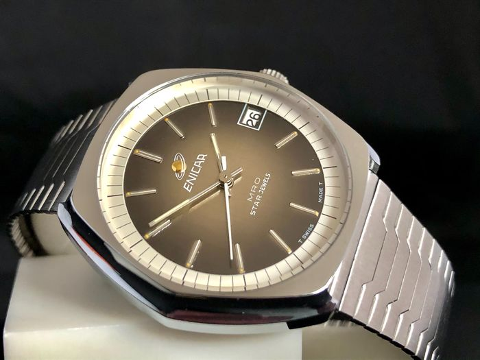 """Enicar - Star Jewels - New Old Stock - Ref. 160-80-01 - """"NO RESERVE PRICE"""" - Men - 1970-1979"""