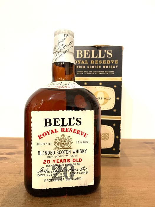 Bell's 20 years old Royal Reserve - b. late 1960s early 1970s - 75cl