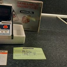 1 Nintendo Game & Watch - Panorama - Donkey Kong JR. - Handheld - In Originalverpackung