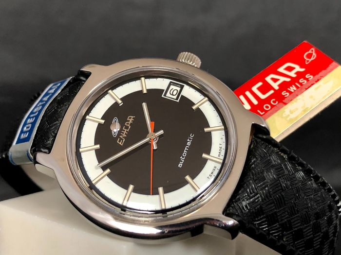 """Enicar - Ocean Pearl Automatic - NOS New Old Stock - Ref 165-21-08 """"NO RESERVE PRICE"""" - Men - 1970-1979"""