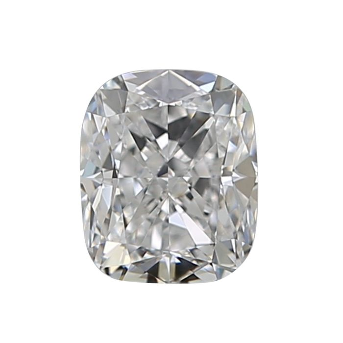 1 pcs Diamante - 0.50 ct - Cojín - G - IF (Inmaculado)