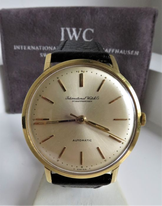 "IWC - 18K solid gold - "" NO RESERVE PRICE"" - R807A - Homme - 1960-1969"