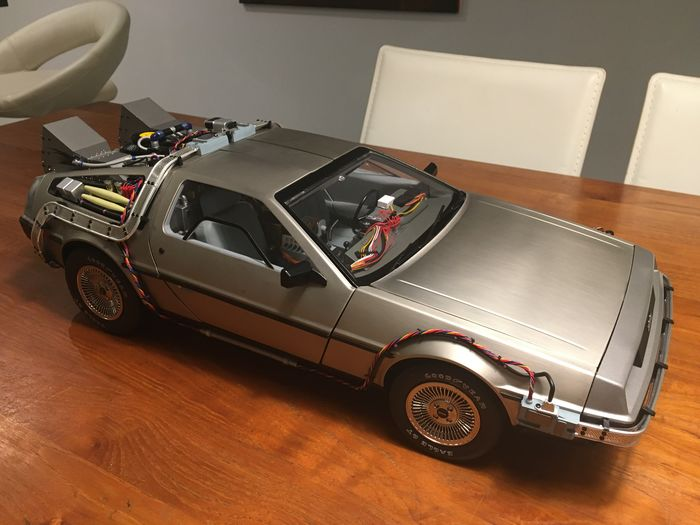 Eaglemoss - 1:8 - De Lorean DMC Time Machine