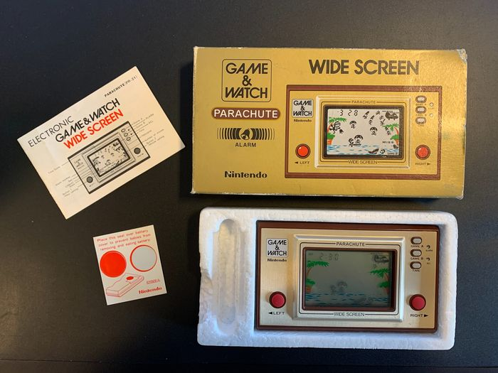 Nintendo Game & Watch - Wide Screen - Parachute - Console con giochi - Nella scatola originale