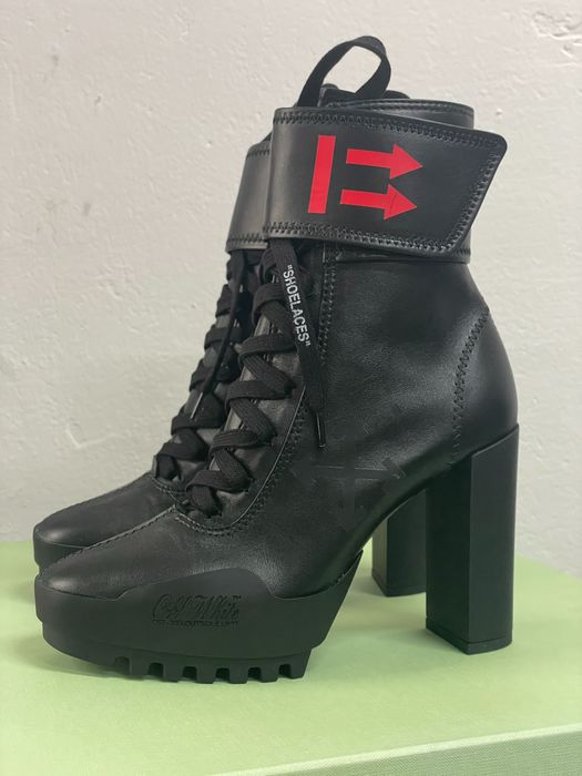 Off White - MOTO - Bottines - Taille: Chaussures / UE 38