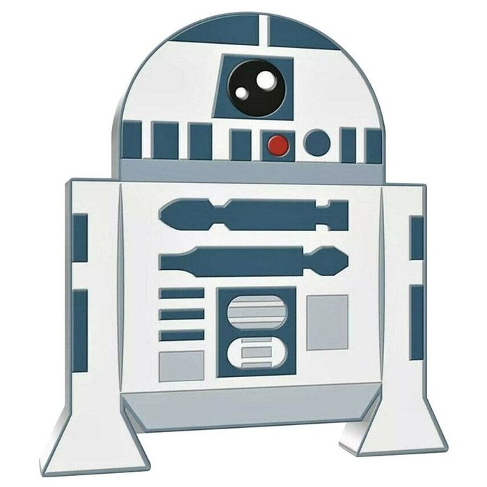 Niue. 2 Dollars 2020 Star Wars - R2-D2 Chibi Coin Collection - 1 oz