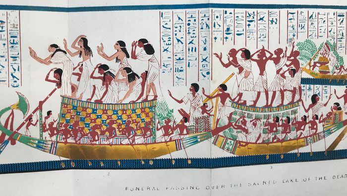 Sir Gardner Wilkinson - Manners and Customs of the Ancient Egyptians - Vol's IV and V (second series) - 1847