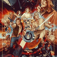 Star Wars - Mondo / artist: Martin Ansin - The Ways of the Force - Nr 1467/2690 - Lithografie, Poster, Verzamelaarsuitgave