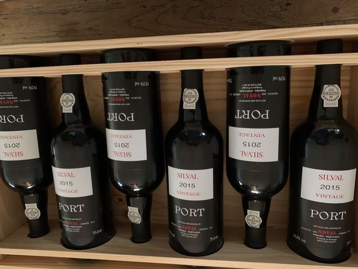 "2015 Quinta do Noval ""Silval"" Vintage Port - 12 Bottles (0.75L)"