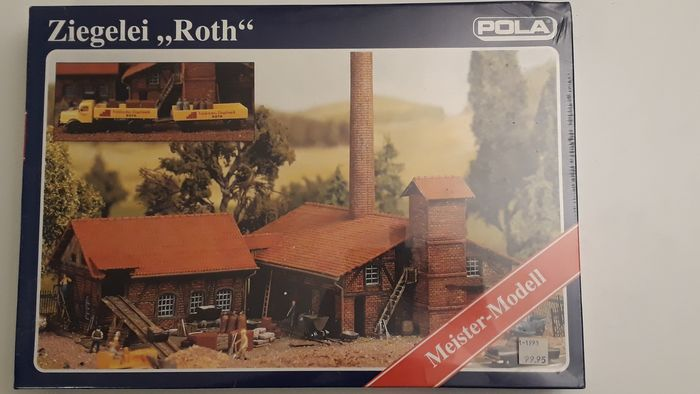 Pola H0 - 616 - Décor - Kit Roth Brick Factory