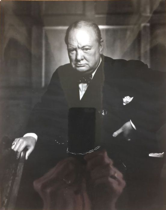 Yousuf Karsh (1908-2002) - Sir Winston Churchill