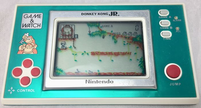 Nintendo - Game & Watch - Donkey Kong JR. - Palmare - Senza scatola originale