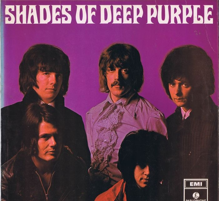 Deep Purple - Shades of Deep Purple - LP Album - 1968
