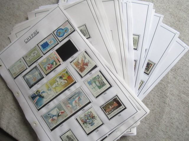 Cyprus 1964/2011 - An important collection of stamps