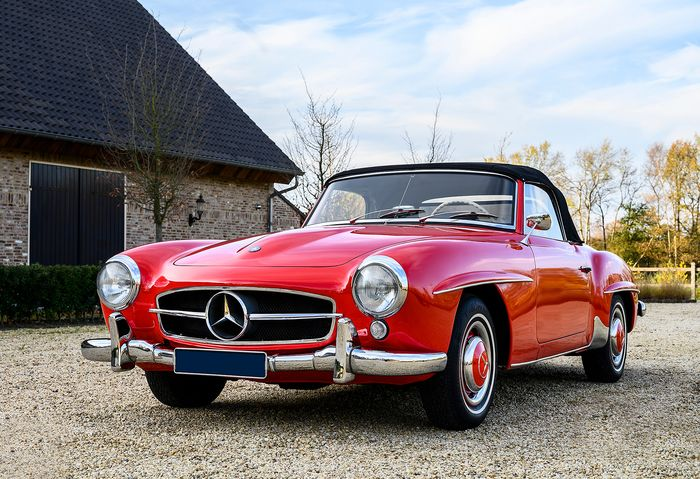 Mercedes-Benz - 190 SL - 1956