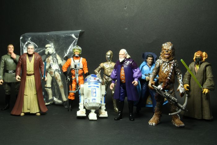 Star Wars - Lot of 10 - Vintage (1980 - 1984)  - see photos - Kenner - Actiefiguur