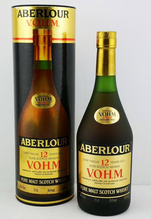 Aberlour 12 years old Very Old V.O.H.M - Original bottling - b. Anni '70 - 25 FL.OZ - 71 cl
