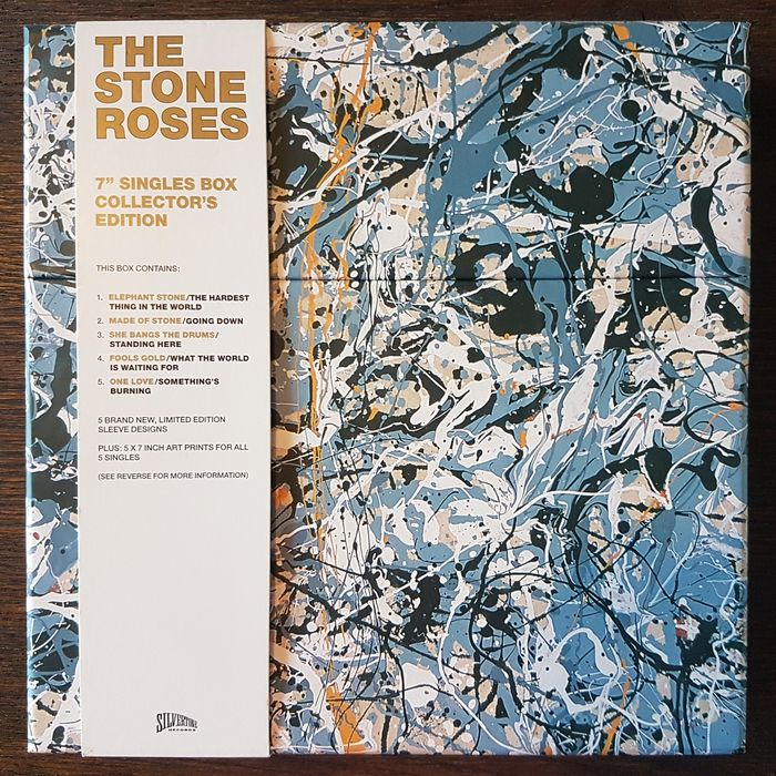 """Stone Roses - 7"""" Singles Box Collector's Edition - Beperkte oplage, Gelimiteerde boxset - 2009/2009"""