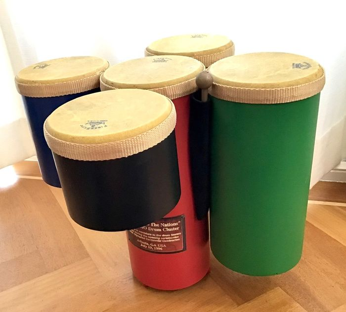 Remo - Olympic - Drum Cluster - USA - 1996