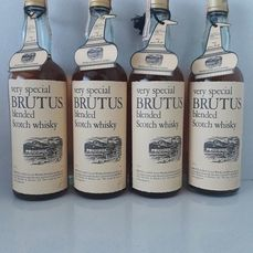 Brutus 5 years old Very Special - b. late 1970s early 1980s - 75cl - 4 flessen