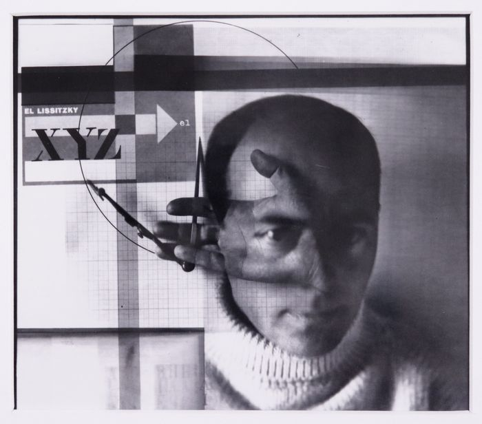 El Lissitzky (1890-1941) - Self-portrait (The Builder)