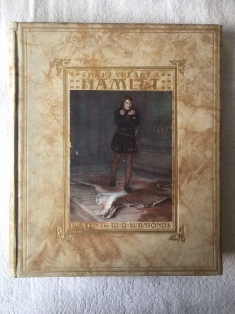 William Shakespeare / W.G. Simmonds [ills.] - Hamlet [Luxe editie] - 1910