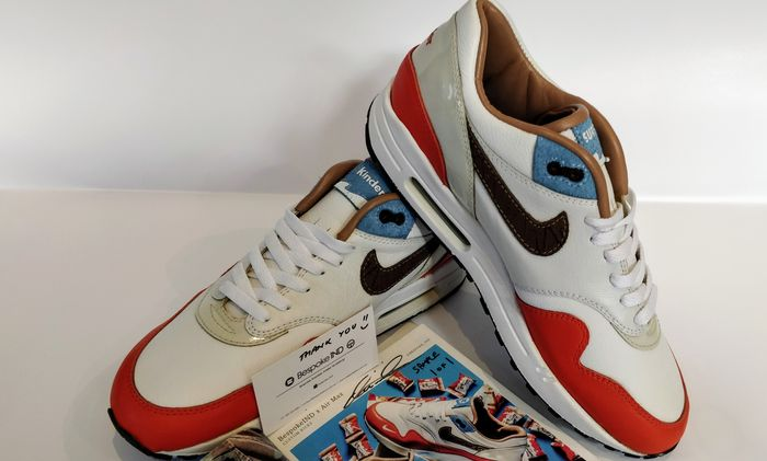 Original Design by BespokeIND for Nike - Air Max Kinder Bueno, Pièce Unique - Sneakers - Maat: Schoenen / EU 44