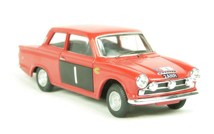 Image 2 of Corgi - 1:43 - Ford Cortina MkI GT #1 Scottish Rally 1965 - Limited Edition of 2,370 pcs. (Individu