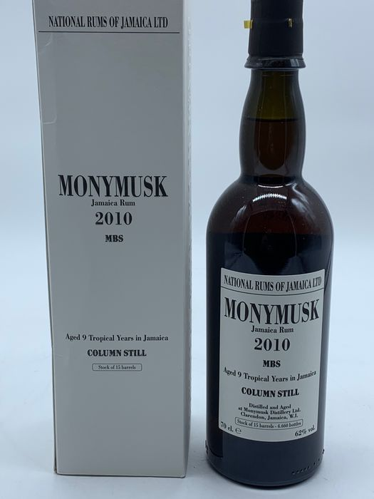 Monymusk 2010 9 years old Velier - MBS Tropically Aged - 70cl