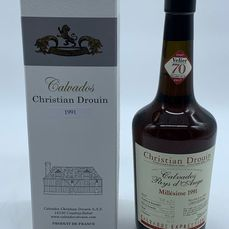 """Christian Drouin 1991 - Pays D'Auge 70 years Velier"""" Limited edition"""" - b. 2017 - 70cl"""