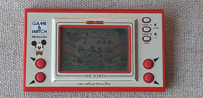 1 Nintendo Game & Watch - Wide Screen - Mickey Mouse - Video giochi (1)