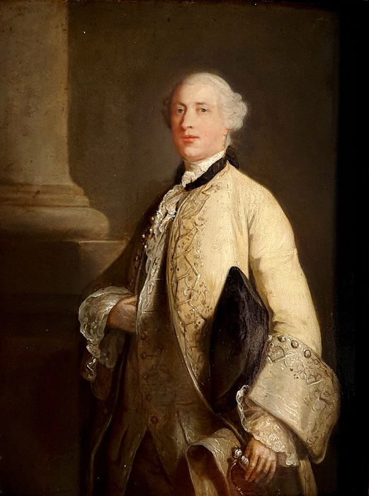 Allan Ramsay (1713-1784) (Attribué à) - Portrait de Richard Grenville (2nd Earl Temple)