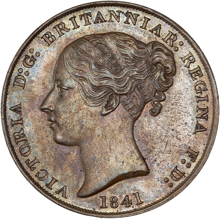 Jersey (Crown dependency). 1/13 Shilling 1841 Victoria