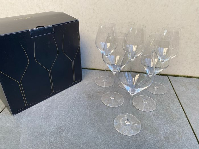 Dom Perignon glasses set of 6 (Riedel) - Champán